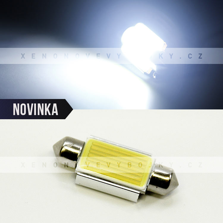 CAN BUS bílá sufitka, HIGH POWER SMD LED, 39mm