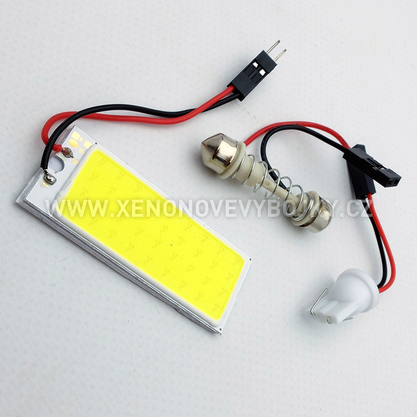High power COB LED panel 50x20 mm s adaptérem pro sufitku 31 - 44mm